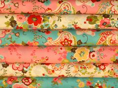 """Fabri Bundle by Chez Moi for Moda """"Sophie"""" 3 yds. total.  $24"""
