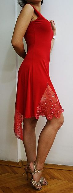 red abito rosso melek yagci couture