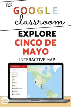 These low-prep, post and go activities are a great way to celebrate Cinco de Mayo with your Spanish students! Students explore a digital interactive Google Map and complete a graphic organizer on Google Slides or comprehension questions for a great activity to explore the history of Cinco de Mayo in your novice middle school and high school Spanish class. Spanish Lesson Plans, Spanish Lessons, Spanish Classroom, Teaching Spanish, How To Speak Spanish, Spanish 1, Teaching Culture, Middle School Spanish, Virtual Field Trips