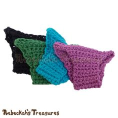 Free Fashion Doll Panties Crochet Pattern by Rebeckah's Treasures! See it here: http://goo.gl/DtygvU #barbie #crochet