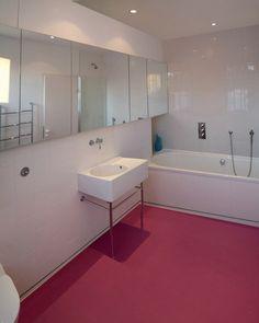 Dalsouple Rubber flooring in bathroom