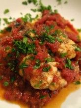 Scrumpdillyicious: Braised Monkfish Medallions in Marinara Sauce monkfish recipes Croatian Cuisine, Croatian Recipes, Seafood Recipes, Cooking Recipes, Healthy Recipes, Atkins Recipes, Cooking Tips, Buttermilk Scone Recipe, Monkfish Recipes
