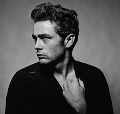 james dean / photo by roy schatt