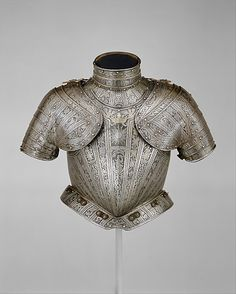Portions of an Armor for Vincenzo Luigi de Capua