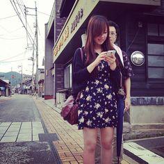 みすゞ通りと美女。 ・・・と変態むいちさん。 #30jidori instagram.com/p/aUmmmwnSbr/