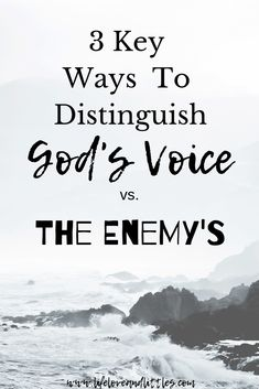 God and Jesus Christ:Hearing God's voice vs. 3 Key ways you can hear from the Lord. Spirit Of Discernment, Spirit Of Fear, Christian Faith, Christian Living, Christian Women, Catholic Vs Christian, Book Of Proverbs, Spiritual Warfare, Spiritual Growth