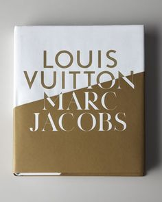 """""""Louis Vuitton/Marc Jacobs"""" -Two of the world's most successful and recognized brands. Examining two divergent but often similar careers one hundred years apart, this book is not only a layered study of the evolution of a luxury brand in the past 150 years; it is also a celebration of technical and design innovations in the new century."""