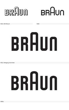 The Histories Of 11 Super Famous Logos, From Apple To Levi's Business Card Logo, Business Design, Braun Logo, Bauhaus Logo, Dna Logo, Branding Design, Logo Design, Graphic Design, Word Mark Logo