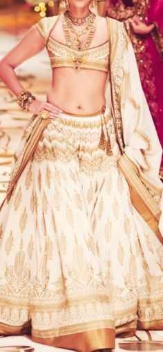 """""""a series of stupidly gorgeous collections ↳ rohit bal india bridal fashion week 2013 