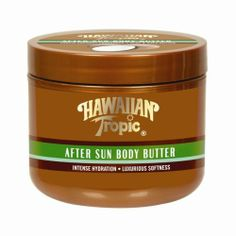 Hawaiian Tropic After Sun Body Butter Coconut, 8-Ounces (Pack of 4) by Hawaiian Tropic. $52.03. Hawaiian Tropic After Sun Moisturizers will quench your thirsty skin and help smooth, revitalize and nourish sun-drenched skin. Infused with nourishing ingredients such as aloe vera and cocoa, shea and mango butters, these moisturizers are great for everyday use.