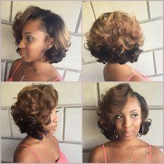 Atlanta Based Stylist @hairbylatise What Weave #Weave...Instagram photo | Websta (Webstagram)