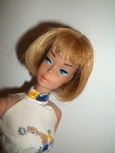 1966 Butterscotch Blond American Girl Barbie Doll www.wonderfinds.com/item/3_161024289988/c250/American-Barbie-Doll