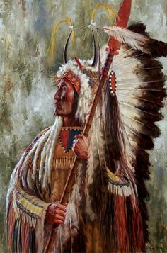"""James Ayers, painter of western art, presents """"Mandan Soldier"""". James Ayers paints Mandan, Lakota, Crow and other Native American tribes. Native American Face Paint, Native American Warrior, Native American Paintings, Native American Pictures, Native American Wisdom, Native American Artists, American Indian Art, Native American Indians, Indian Pictures"""