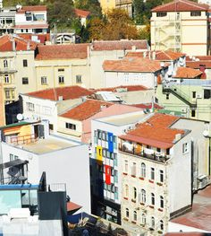 Colorful Homes Galata Tower View