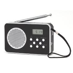 Coby CXCB92 9 Band AM/FM/Shortwave Radio with Digital Display by Coby. $11.44. Your portable radio needs. Its sleek yet classic design features an integrated full-range speaker and headphone jack for private listening. Digital LCD display and capability to receive SW 1-7 world bands are just a few of its many features.
