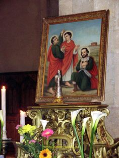 Il Reliquiario esposto alla devozione dei fedeli nella Cattedrale cittadina (15 maggio 2009)