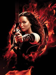 Everyone knows Katniss Everdeen from The Hunger Games Trilogy by Suzanne Collins and the blockbuste. Katniss Everdeen, Katniss And Peeta, The Hunger Games, Hunger Games Catching Fire, Hunger Games Trilogy, Jennifer Lawrence Movies, Jenifer Lawrence, Hanger Game, Tribute Von Panem