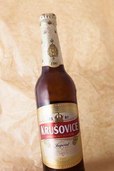 Krusovice Imperial. Czech beer Czech Beer, Prague, Professor, Brewing, Ale, Alcohol, Clock, Root Beer