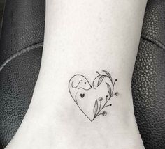 The web's most awesome small dog tattoos. Mini Tattoos, Small Dog Tattoos, Cute Tattoos, Beautiful Tattoos, Body Art Tattoos, Tattoos For Guys, Tattoos For Women, Ankle Tattoos, Small Black Tattoos