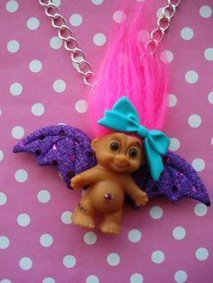 Cute Troll Doll Necklace