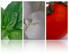 Basil + Mozzarella + Tomato = Italian Yummies