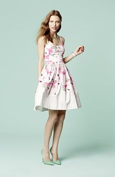 fun and preppy floral frock @nordstrom #Nordstrom
