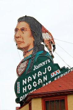 Johnny's Navajo Hogan, Colorado Springs-Colorado - I've visited many times!  Used to be called just the Navajo Hogan...very historic.