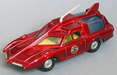 Captain Scarlet's Patrol car from the 60'