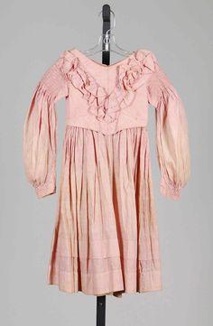 1837-39 Dress   American   The Metropolitan Museum of Art