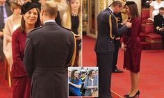 Kate's 'Girl Friday' is honoured at Buckingham Palace