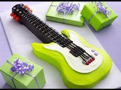 How to Make a Guitar Cake (Video)