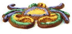 crab shaped king cake....................... um...ok haha
