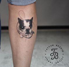 Tayfun Bezgin dog tattoo