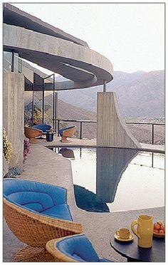 Arthur Elrod House, 1968, John Lautner, architect