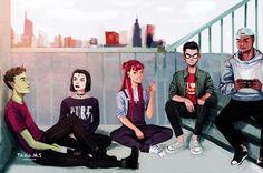 Strangers Like Me • Teen titans