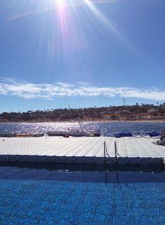 Floating pool :-)