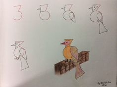 3-0 Fun Kids Drawings With Number As a Base