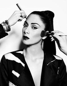 Nicole Scherzinger Beauty Shoot for Notion Magazine