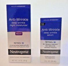 40207df04d2 2 Neutrogena Anti-Wrinkle Items Serum + Night Moisturizer Expires 2020 2  ITEMS #Neutrogena