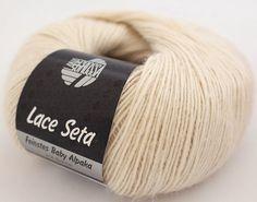 Lace Seta Lana Grossa diverse Farben von Das Atelyeah auf DaWanda.com