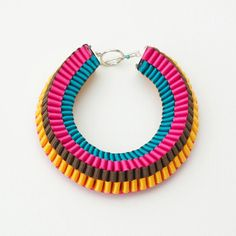 Emma Calvert - Luxury Textile Jewellery  http://emmacalvertjewellery.tumblr.com/