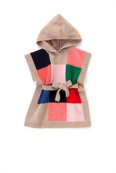 Girls Patchwork Blanket Top COUNTRY ROAD $70