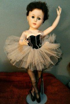 1950 60s Era Vintage 18 Quot Posing Ballerina Doll Worig Box