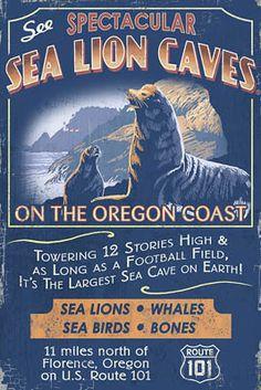 Sea Lion Caves, Oregon coast