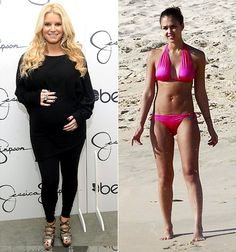 Jessica Simpson: I Want Jessica Alba's Post-Baby Bod!