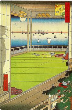 Hiroshige, From One Hundred Famous Views of Edo: