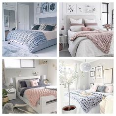 Most liked chunky knitted throw bedrooms of 2016 @immyandindi 👌🏻 tap for details | Which ones your fave?