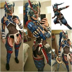 Real Nargacuga Armor