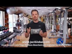 Testimonial for Yoga Jaci Yoga Towel - YouTube
