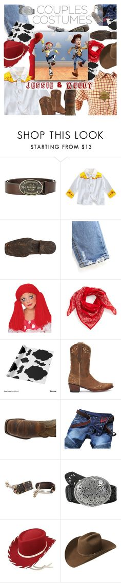 """Rootin'-est Tootin'-est Cowboy in the Wild Wild West"" by sierrrrrra ❤ liked on Polyvore featuring Dsquared2, Disney, Ariat, Rubie's Costume Co., Madewell, Draper James, Tony Lama, Bailey Western, toystory and pixar"